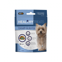 VET IQ Healthy Treats Breath and Dental with Duck 70g