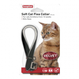 Beaphar Soft Cat Flea Collar- Velvet