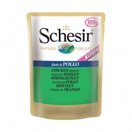 Schesir Chicken fillets Kitten Pouch 20x100g