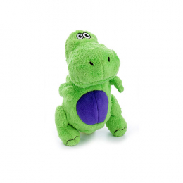 goDog Green T-Rex Small Dog Toy