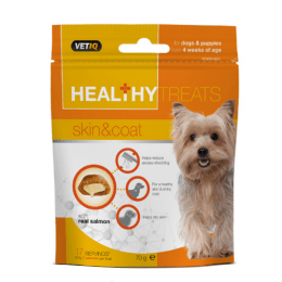 M&C Healthy Treats Skin & Coat For Dogs & Puppies 70g