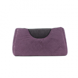 Square comfy bed 3 sizes - Purple & Gray