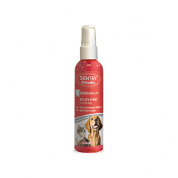 SENTRY Breath Spray For Dogs & Cats Veterinary Strength 4 fl oz