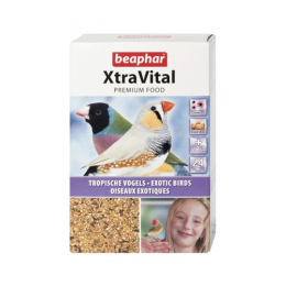 Beaphar XtraVital Tropical Bird Food 500g