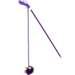 OurPets Interactive Toys RealBirds Fly Over Wand With Sound & Catnip