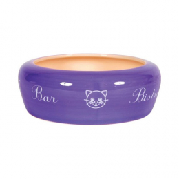"NO WASTE CERAMIC BOWL ""BAR"" - LILAC 0.3L"
