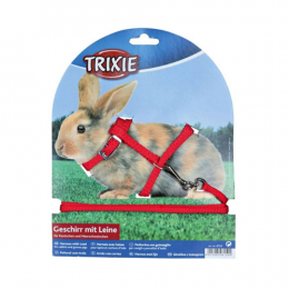 TRIXIE Soft Rabbit Harness and Lead SET