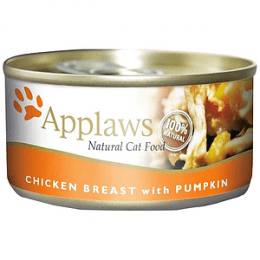 Applaws Chicken Breast with Pumpkin 24x70g