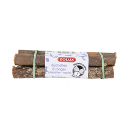 ZOLUX Mini-logs for rodents x4