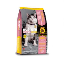 Nutram Sound Balanced Wellness® Adult and Senior Cat Dry Food Chicken and Salmon