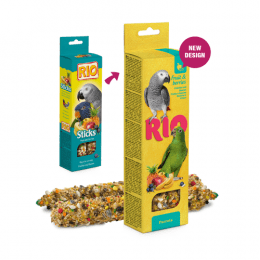RIO Sticks treats with Fruit and Berries for Parrots 90g