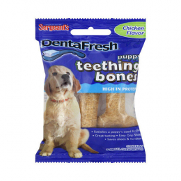 Sergeant's DentaFresh Puppy Teething Bones