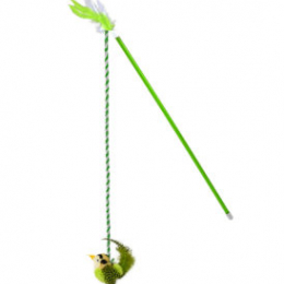 OurPets RealBirds Fly Over Wand With Sound & Catnip