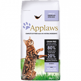 Applaws Adult Cat Food chicken with duck
