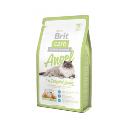 "Brit Care ""Angel"" Hypoallergenic Chicken & Rice for Senior Cats"