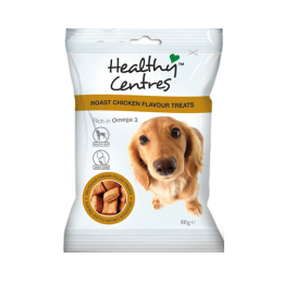 Healthy Centres - Roast Chicken Dog Treats 80g