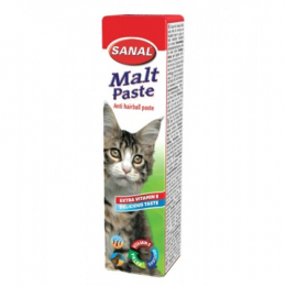 Sanal Malt Anti-Hairball Paste for Cats