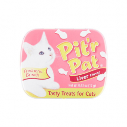 Pit'r Pat Liver Flavored Breath Freshener Cat Treats
