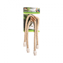 Pen Plax Cross Rope Perch