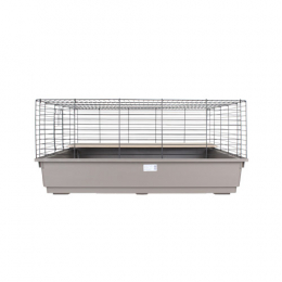 Gabbia Cavia Maxi Large Rabbit Cage Brown