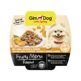 GimDog Ragout with lamb, apricots and vegetables 8x100g