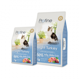 Profine Cat Light Senior Turkey