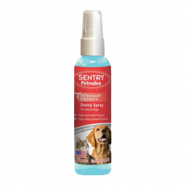 Sentry Petrodex dental spray for cats & dogs 4oz