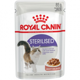 Royal Canin Sterilised (in gravy) 12x85g