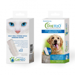 DogH2O & CatH2O Dental Care Tablets