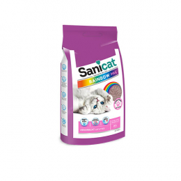 Sanicat Rainbow Absorbent Cat Litter 20L