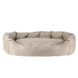 Dog ECO Leather bed 90x70 cm