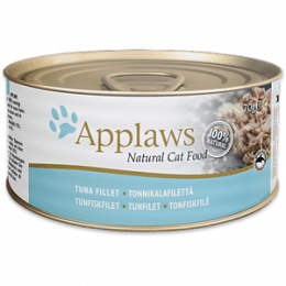 Applaws Tuna Fillet in a Tasty Broth Cans 70gx24