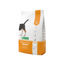 Nature's Protection Medium Junior Poultry Dry Food