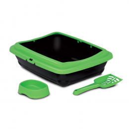 Litter Tray with Scoop & Dish