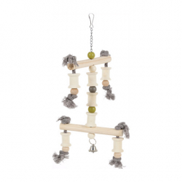 Zolux Wooden Toy for Parrots/Large parakeets