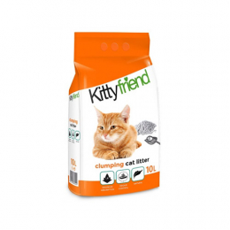 SaniCat - KittyFriend clumping Cat Litter Lavender  10L