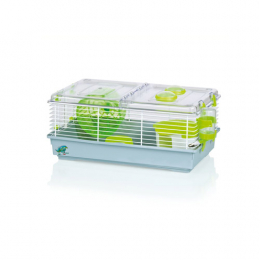 siro hamster cage green small
