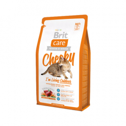 "Brit Care ""Cheeky"" Hypoallergenic VENISON & Rice Formula for Adult Cats LIVING OUTDOOR"