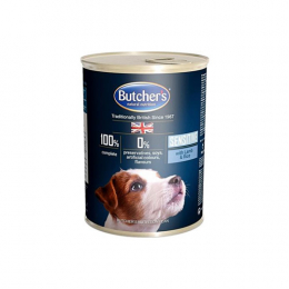 Butcher's Plus Sensitive with lamb and rice pate 24x390g