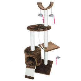 PARTYSAVING-cat kitten tree scratcher play toy house