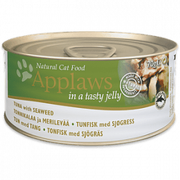 Applaws Tuna with Seaweed in Jelly Cans 70gx24