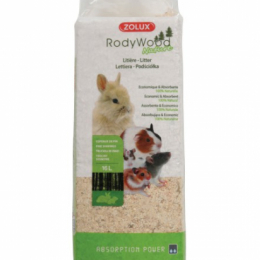 ZOLUX Rody Wood Nature Litter 16L