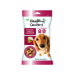 M&C Healthy Centers Real Turkey & Cranberry Treats 113g