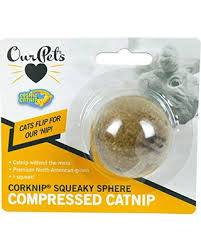 OurPets BinJingle Ball-catnip toy