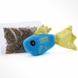 OurPets Wet Willy Refillable Fish Toy