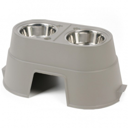 OurPets Healthy Pet Raised Diner Beige 12""
