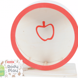 ZOLUX Rodyplay Wooden Wheel Apple