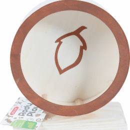 ZOLUX Rodyplay Wooden Wheel Hazelnut