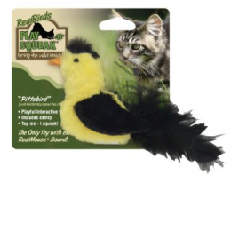 OurPets RealBirds Pittsbird RealBirds Sound & Feathers With catnip