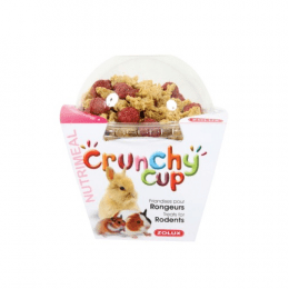 ZOLUX Crunchy Cup Nuggets Plain & Beetroot pellets